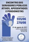 Entidades Do Funcionalismo V�o � Bras�lia Defender A Extin��o Da Contribui��o Previdenci�ria De Aposentados E Pensionistas