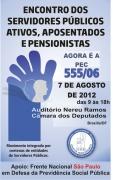 Funcionalismo Far� Ato Em Bras�lia Pela Pec 555 No Dia 7 De Agosto